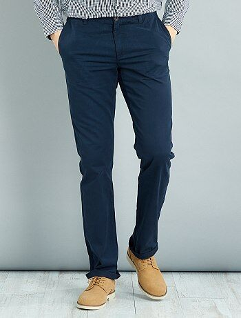 Homme du S au XXL - Pantalon chino regular L38 +1m90 - Kiabi
