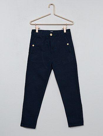 pantalon comfort texturé - Kiabi