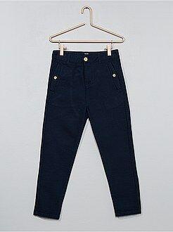 Pantalon - pantalon comfort texturé - Kiabi