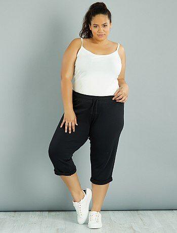 Pantalon de jogging 3/4 - Kiabi