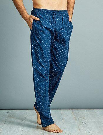 Pantalon de pyjama en popeline pur coton - Kiabi