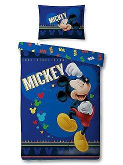 Parure de lit 'Mickey Mouse' de 'Disney' - Kiabi