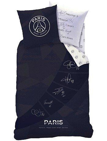 Parure de lit réversible 'Paris Saint-Germain' - Kiabi