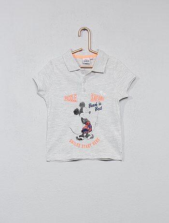 Polo imprimé 'Mickey Mouse' 'Disney' - Kiabi