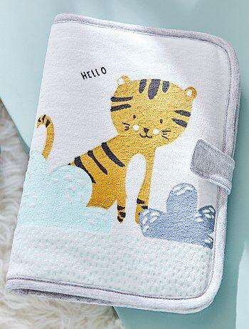 Protège carnet de santé imprimé 'tigre' - Kiabi