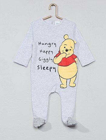 Garçon 0-36 mois - Pyjama en coton 'Winnie l'Ourson' - Kiabi