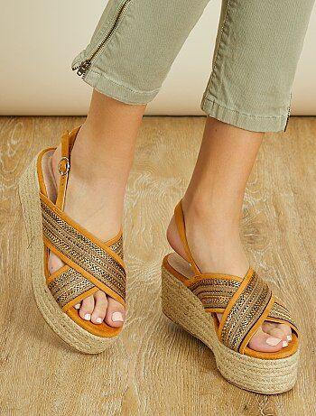 Sandales à plateformes - Kiabi