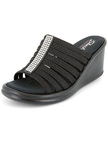 Sandales compensées 'Skechers' - Kiabi