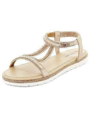 Sandales plates - Kiabi
