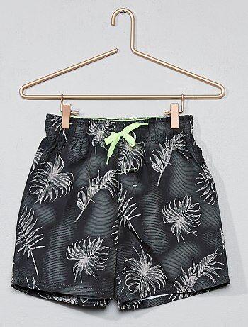 Short de bain 'palmier' - Kiabi