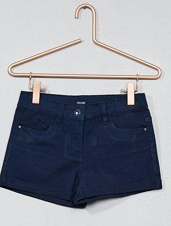 Short en coton stretch - Kiabi