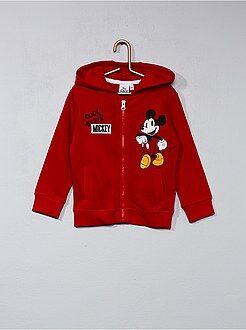 Sweat zippé 'Mickey' - Kiabi