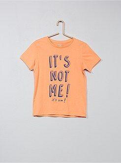 Tee shirt, polo taille 12a - T-shirt imprimé fantaisie - Kiabi