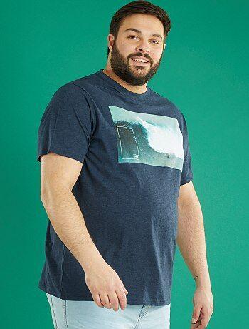 T-shirt jersey imprimé 'photo' - Kiabi