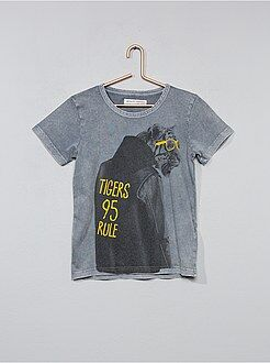 Tee shirt, polo taille 4/5a - T-shirt 'Tigre' - Kiabi