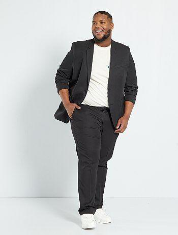 Veste de costume unie coupe droite - Kiabi