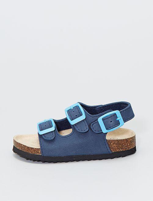 Anatomische sandalen                                         blauw