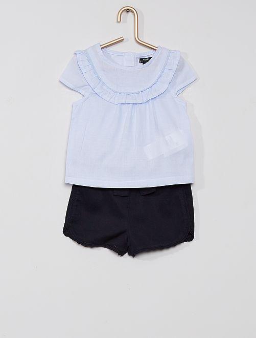 Babypakje 'Ecodesign'                             BLAUW