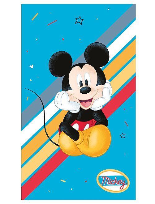 Badhanddoek 'Mickey'                             blauw