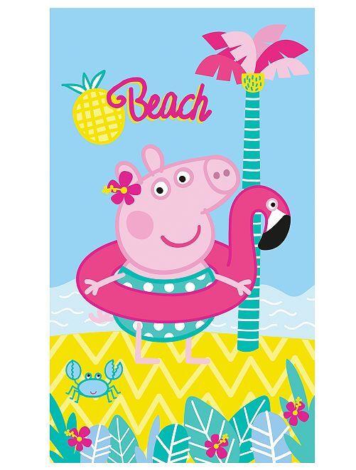 Badhanddoek 'Peppa Pig'                             BLAUW