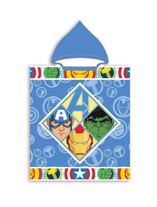 Badponcho 'Avengers'                             BLAUW