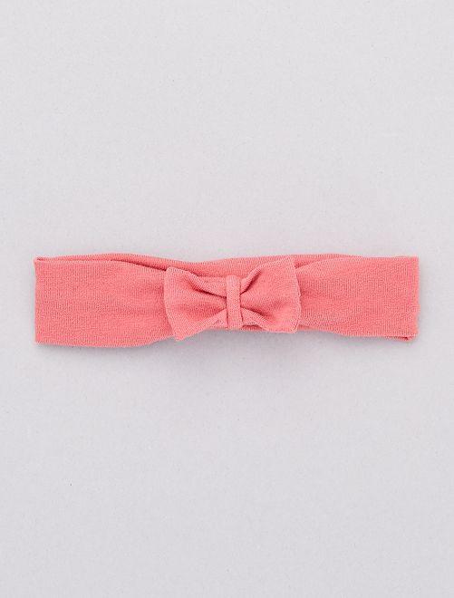 Bandeau met strik                                                                                         roze Meisjes babykleding