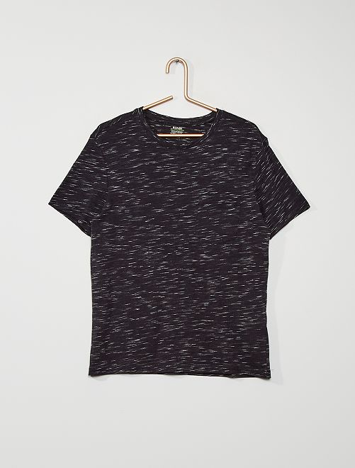 Basic T-shirt                                                                 BLAUW