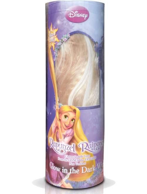 Blonde pruik 'Rapunzel'                             geel