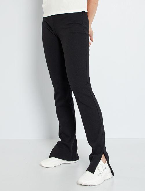 Bootcut broek                             zwart