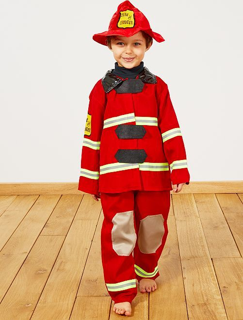 Brandweermankostuum                             rood