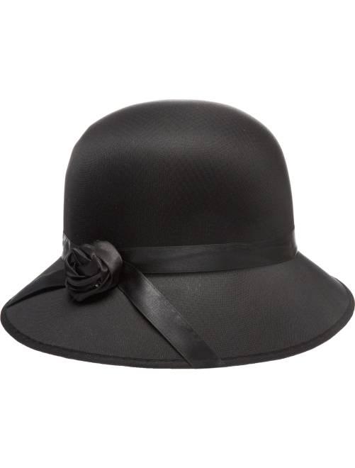 Charleston hoed                             zwart