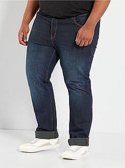 Herenmode grote maten Comfortabele five-pocket jeans
