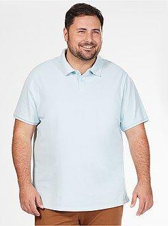 Poloshirt - Comfortabele polo van piquékatoen