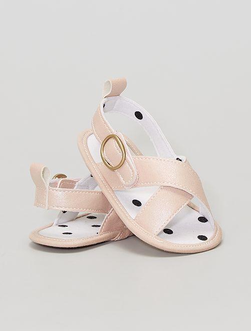 Dé sandalen voor de zomer!                             WIT