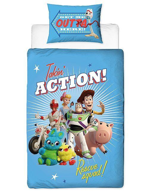 Dekbedovertrekset van 'Toy Story'                             blauw