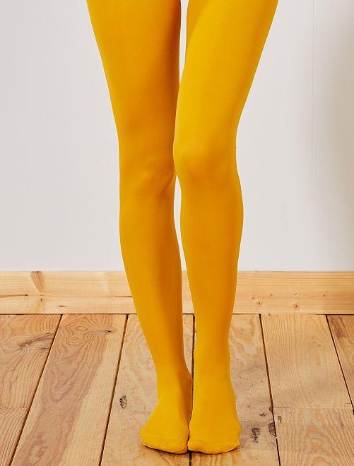 Dim 'Mod'  panty Ondoorschijnend en fluweelzacht 40D                                                                             BIEGE Lingerie maat s-xxl