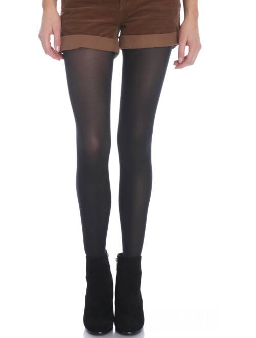 Dim 'Mod'  panty Ondoorschijnend en fluweelzacht 40D                                                                             zwart Lingerie maat s-xxl