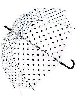 Accessoires - Doorzichtige paraplu