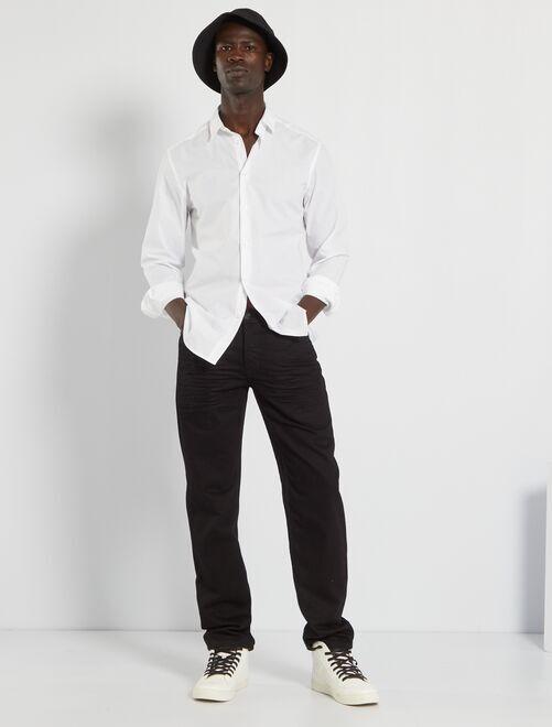 Ecologisch ontworpen, regular-fit jeans L32                                                                 zwart