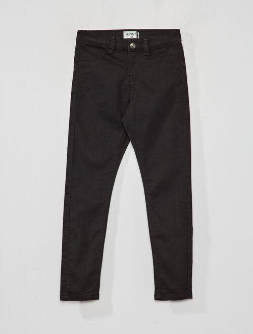 Ecologisch ontworpen, skinny-fit jeans                                         zwart
