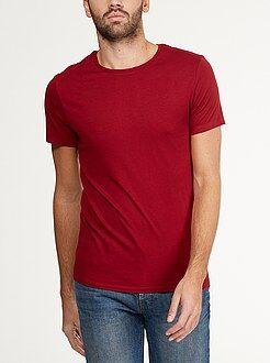 Heren t-shirts - Effen jersey T-shirt