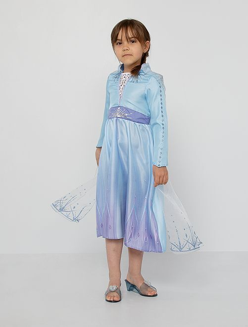 Elsa-verkleedkostuum van 'Frozen 2'                             blauw