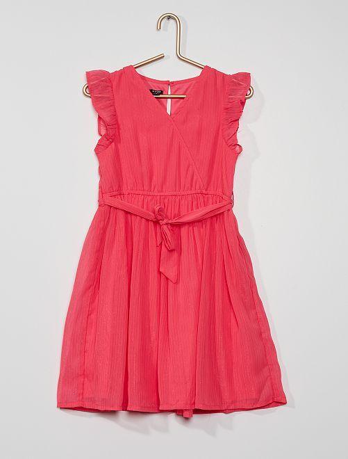 Feestelijk jurkje                                                                             roze