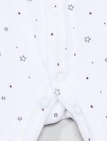 3c60e166a91 Fluwelen pyjama 'sterren'