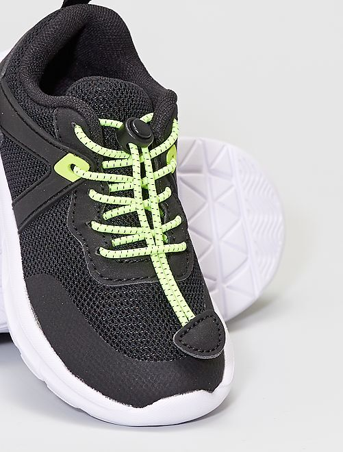 Gemakkelijk aan te trekken sneakers                                         zwart