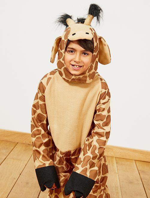Giraf-verkleedkostuum                             bruin