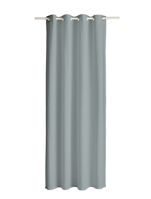 Gordijn met ringen                                                                                                                                                     grijs Woongoed