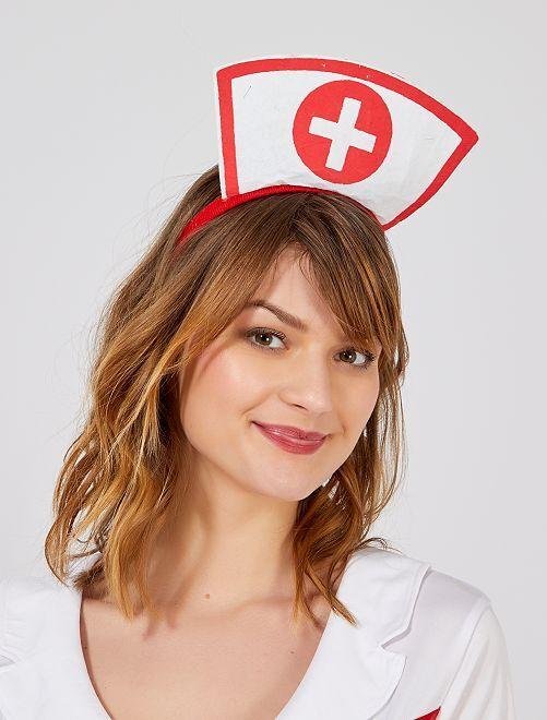 Haarband 'verpleegster'                             wit