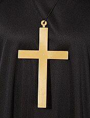 Halsketting met hangertje van monnikenkruis