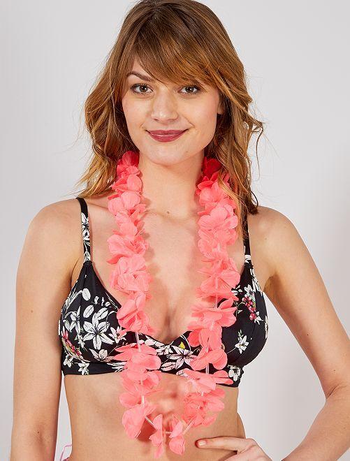 Hawaïaanse ketting accessoire                                                                                                                 roze Accessoires